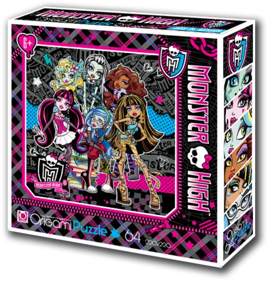 Пазлы 64 Monster High 05925