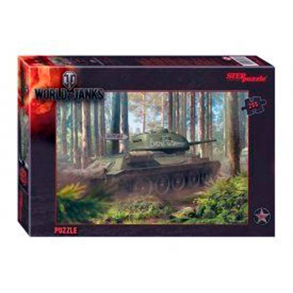Пазлы 260 World of Tanks