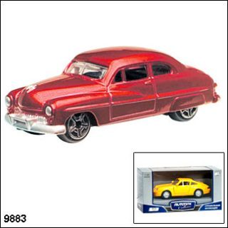 Машина мет.MERCURY COUPE 49 1:60
