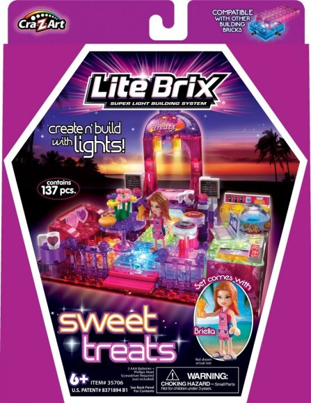 Конструктор Lite Brix  Girls Гостиная