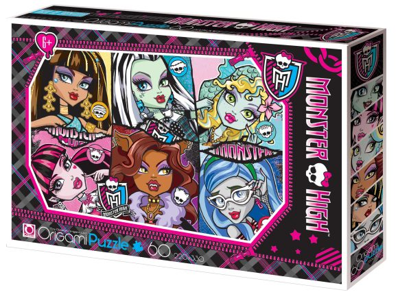 Пазлы 60 Monster High.05909
