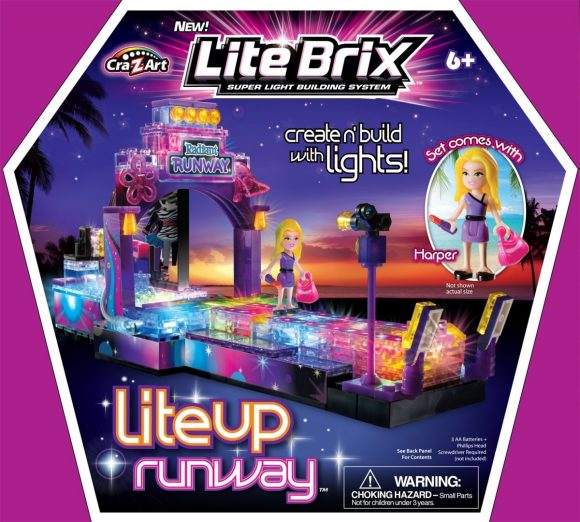 Конструктор Lite Brix Girls Подиум